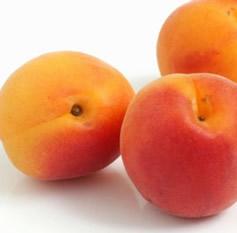 test a ripe apricot