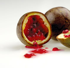 test a ripe passion fruit